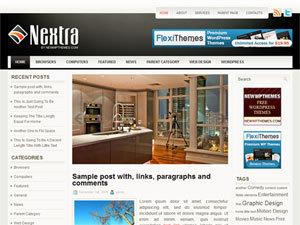 Nextra template WordPress