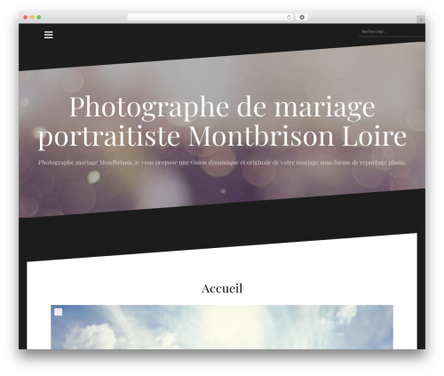 Oblique WordPress template free - temps-et-lumiere.fr