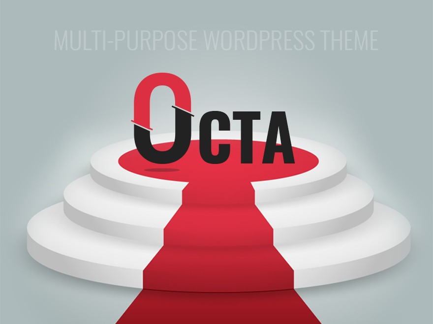 OCTA template WordPress