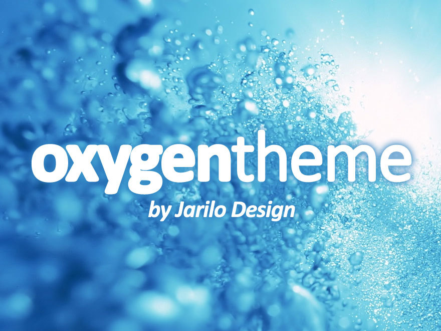 Oxygen Child Theme WordPress template