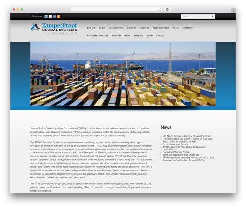 Free WordPress Theme My Login plugin - tamperproofglobal.com