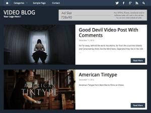 RichWP Video Blog best WordPress video theme