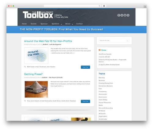 Swagger WP theme - thenon-profittoolbox.com