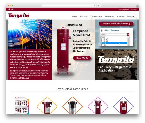 Free WordPress Theme My Login plugin - temprite.com