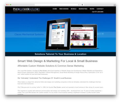 Theme WordPress Echelon - thelocalwebsolution.com