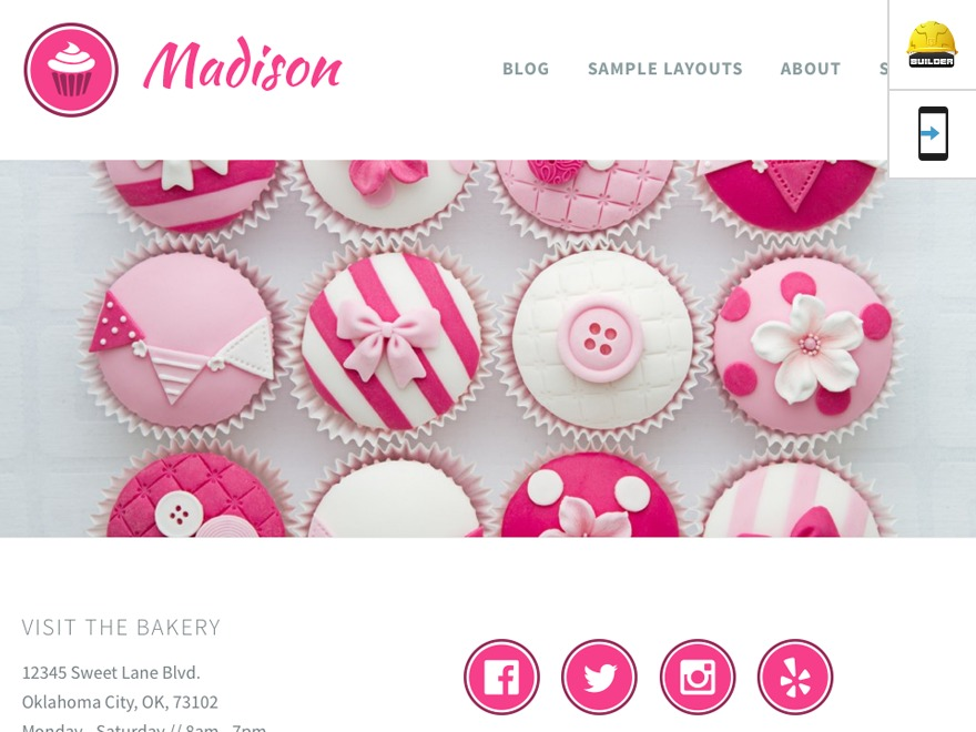 Theme WordPress Madison - Custom