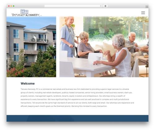Theme WordPress Wizelaw - tatuskolaw.com