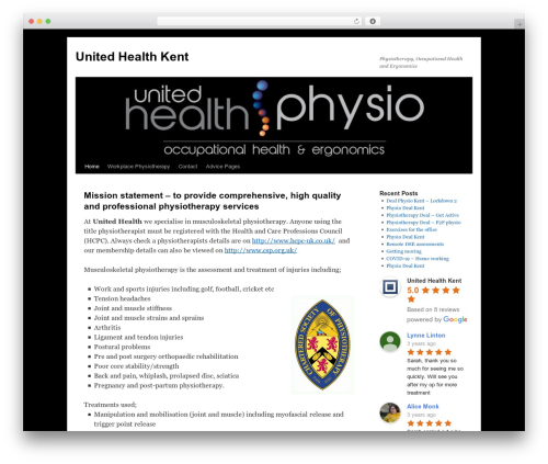 WordPress collision-testimonials plugin - unitedhealthkent.com