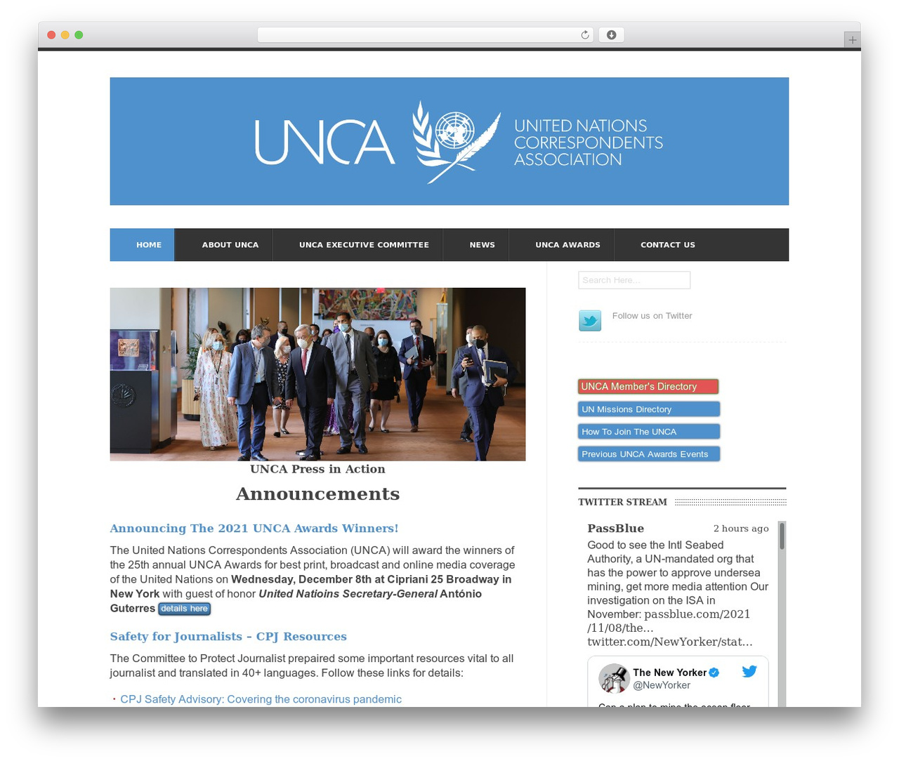 UrbanNews best WordPress magazine theme - unca.com