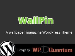 WallPin Theme v2 WordPress news template