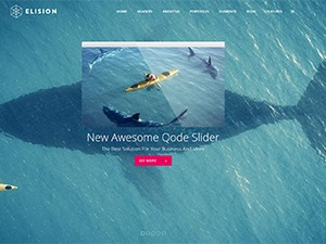 WordPress theme Elision