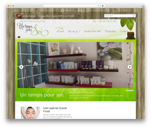 WordPress Theme Number WordPress theme - untempspoursoi-aix.com