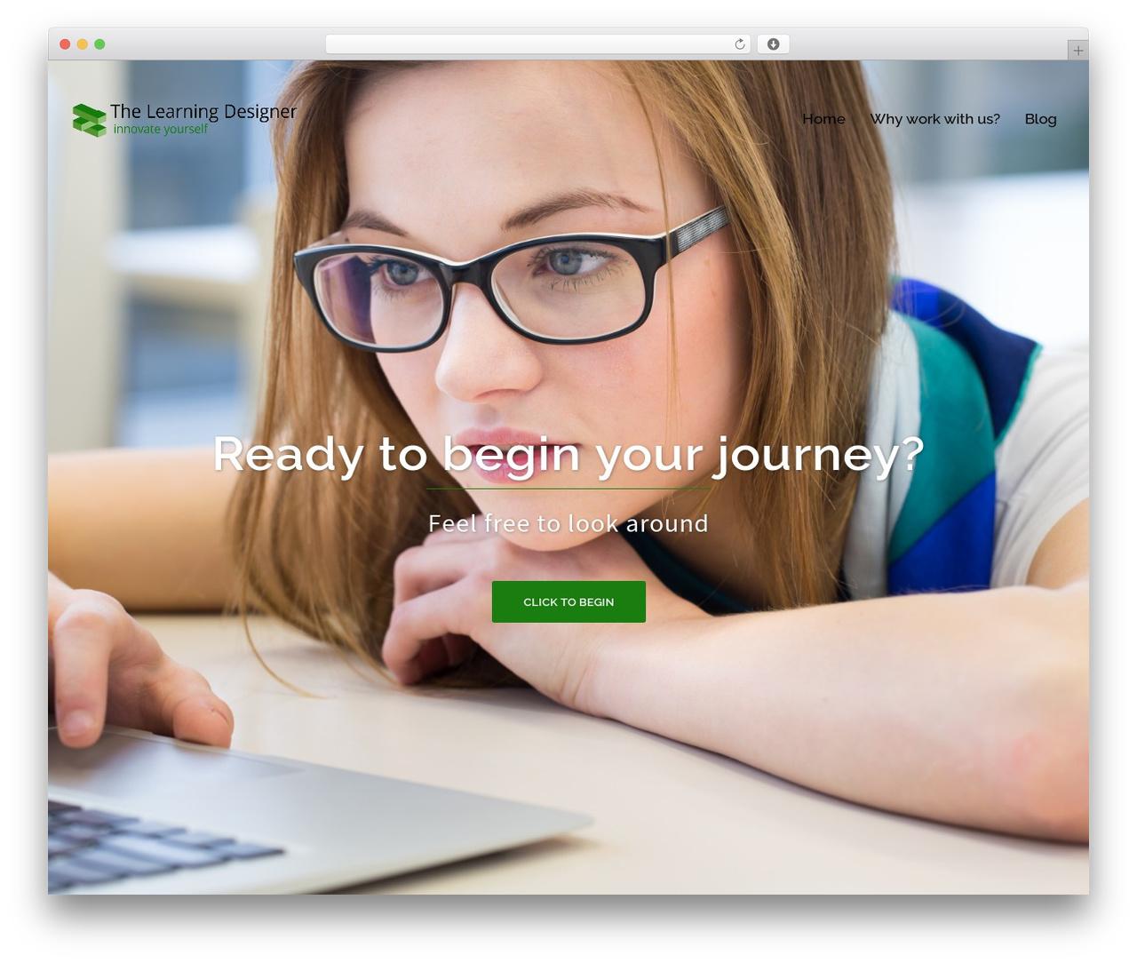 WordPress theme Sydney - thelearningdesigner.com