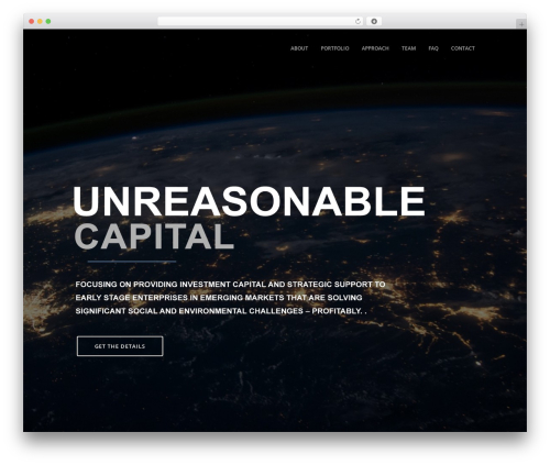 WP theme Xone - unreasonablecapital.com