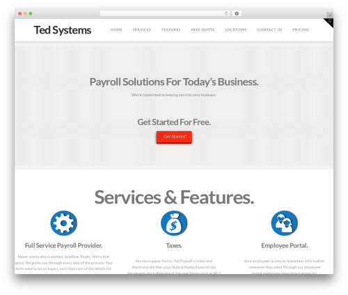 WordPress x-shortcodes plugin - ted.co