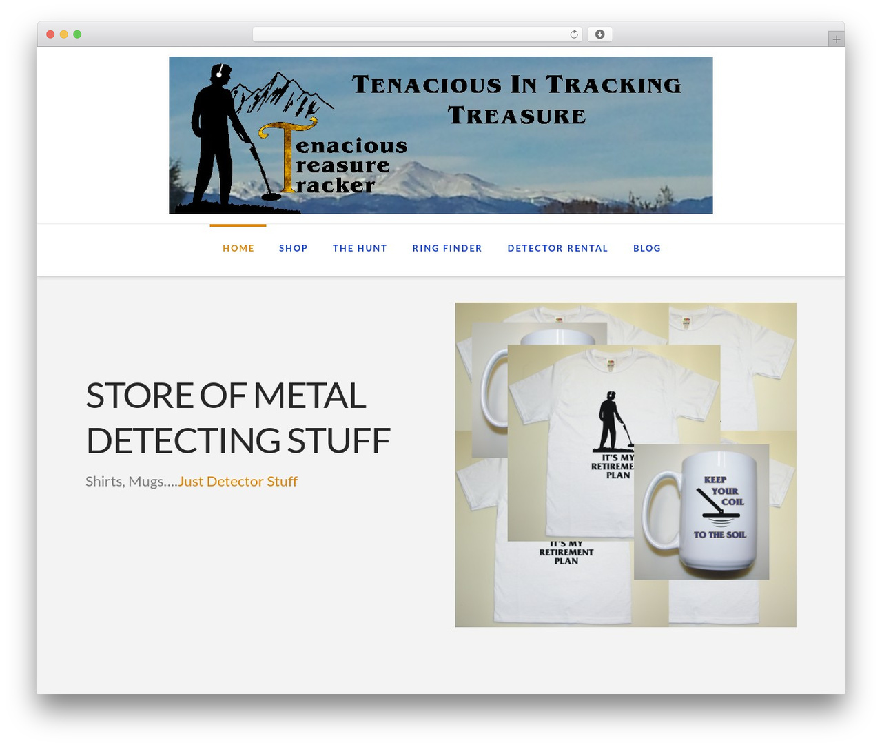 X WordPress theme - tenacioustreasuretracker.com