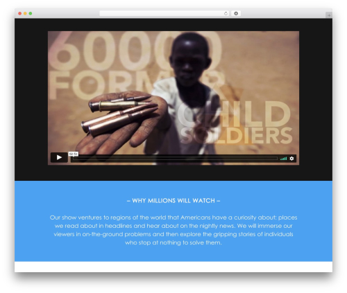 Xone template WordPress - unreasonableheroes.com