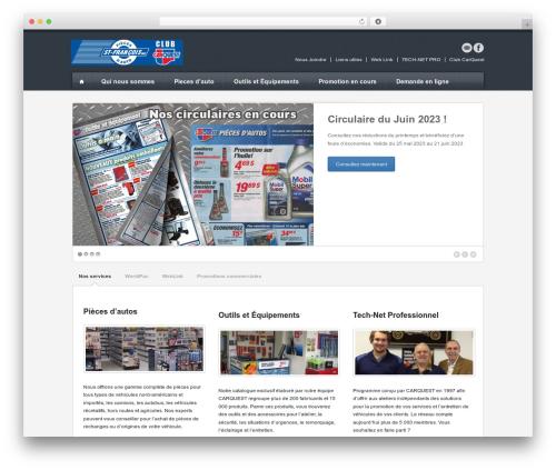 Breakout WordPress website template - carquestterrebonne.ca