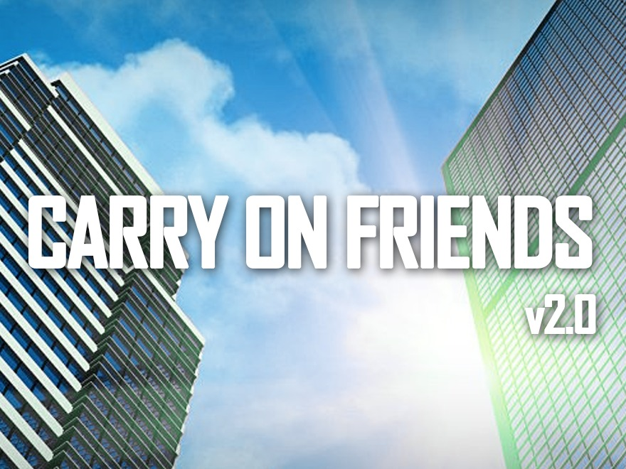 carryonfriends-v2.0 WordPress blog theme