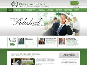 ChampionCleaners template WordPress