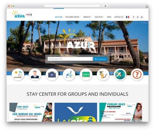 Free WordPress Polylang plugin - centre-azur.fr