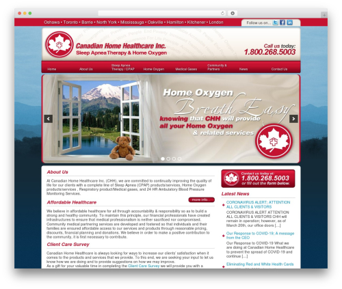 DT Theme WordPress theme - canadianhomehealthcare.info