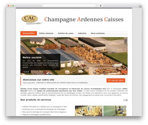 Finesse top WordPress theme - champagneardennescaisses.com