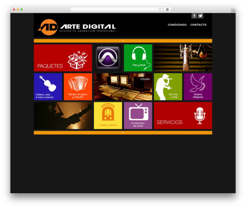 Matrix WordPress free download - estudiodegrabacion.com.mx/artedigital