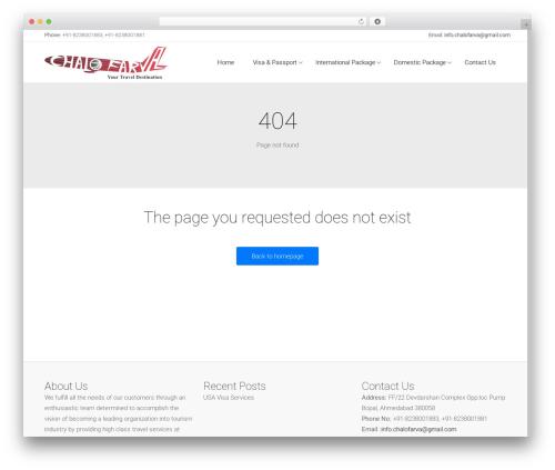 Satellite7 WordPress travel theme - chalofarva.com