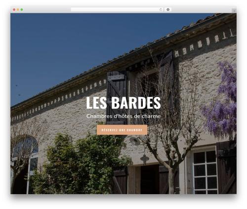 Theme WordPress Divi - chambresdhotes-lesbardes.com