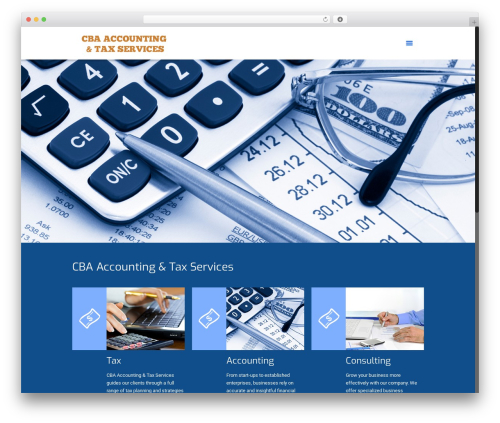 Betheme WordPress theme - cbaaccounttax.net