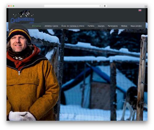 Black Label theme WordPress - casaventures.com