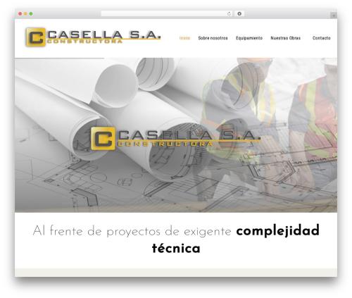 DynamiX best WordPress theme - casellasa.com