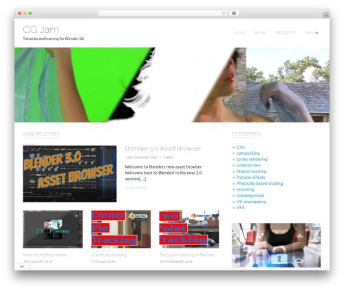 Poseidon free website theme - cgjam.net