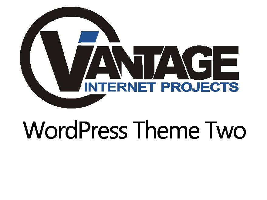 Vantage 2 WordPress blog template