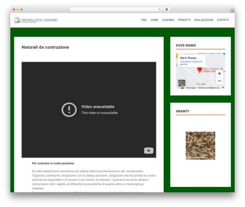 AccessPress Parallax free WP theme - carobbio.com