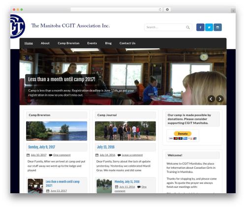 Courage WordPress theme free download - cgitmanitoba.ca