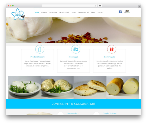 Eden WordPress template - caseificiolastellabianca.it