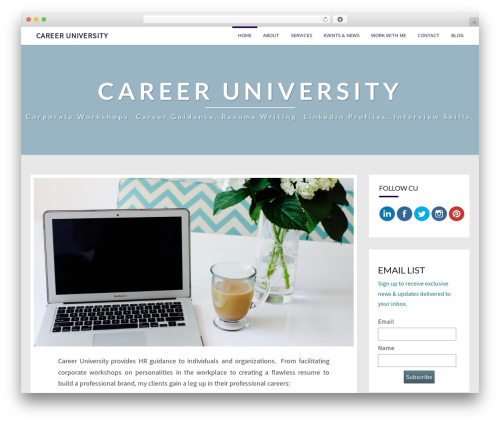 Free WordPress Simple Author Box plugin - careeruniv.com
