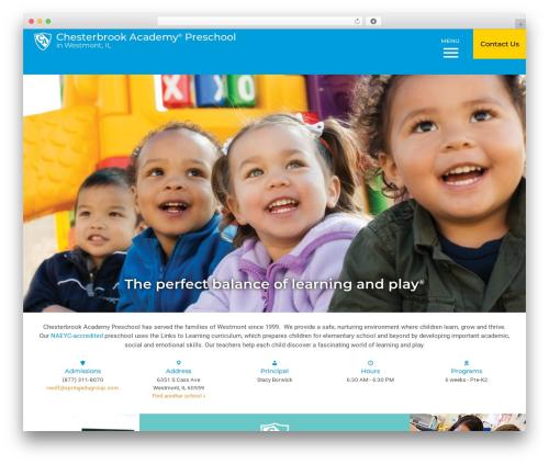 Nobel Learning template WordPress - chesterbrookacademy.com/preschools/chicago/westmont