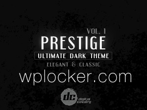 Prestige Dark vol.1 company WordPress theme