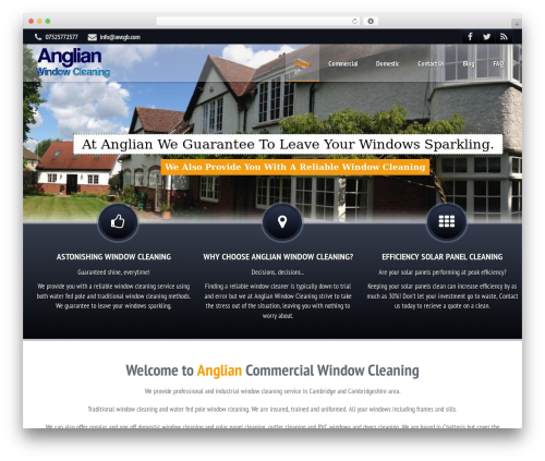ProStyler Theme top WordPress theme - cambridgewindowcleaners.co.uk