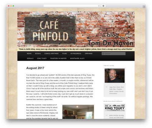 Twenty Eleven template WordPress free - cafepinfold.com
