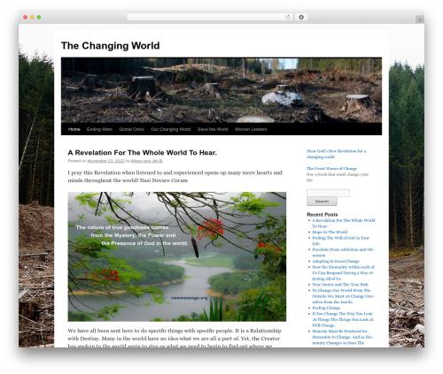 Twenty Ten WordPress theme download - changing-world.org