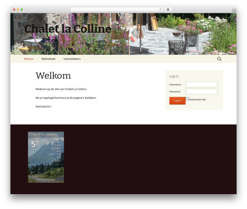 Twenty Thirteen free WordPress theme - chaletlacolline.eu