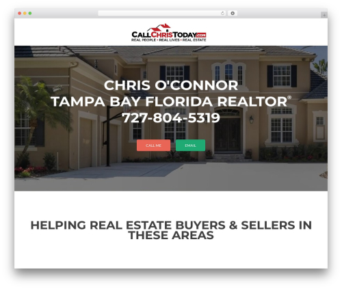 Zerif Lite real estate WordPress theme - callchristoday.com