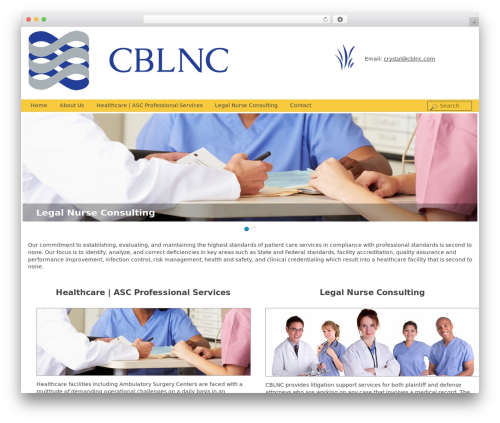 CBLNC WordPress theme - cblnc.com
