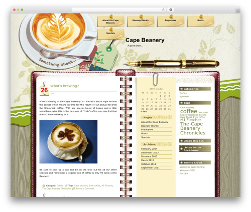 Free WordPress Cookies for Comments plugin - capebeanery.com