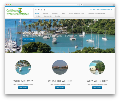 Customizr WordPress free download - caribbeanwritersmarketplace.com