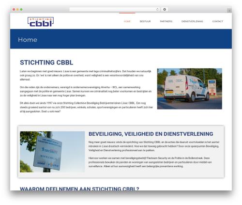 jupiter premium WordPress theme - cbbl.nl